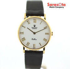 mens rolex cellini watches rolex cellini 5112 18k yellow gold white r dial hand winding men s watch