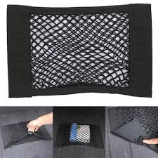 1PCS Car Styling <b>Car Trunk Box Storage</b> Bag Mesh Net Bag Holder ...