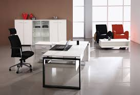 decorate spacious office area with white cabinets and modern white office desk neat fluffy sofas black office desk office desk
