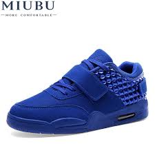 <b>MIUBU New Arrival</b> Lighted Candy Color High top Shoes Men ...