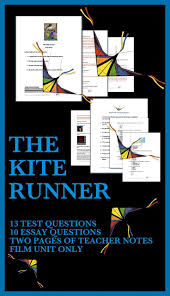 best ideas about the kite runner film the kite kite runner test and questions film study this unit is on the film adaptation of the kite runner but not the book included in this unit are the