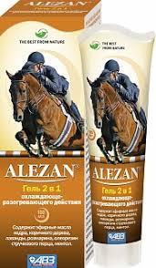 Alezan <b>Гель</b> 2 в 1 разогревающее-<b>охлаждающий</b> для суставов ...