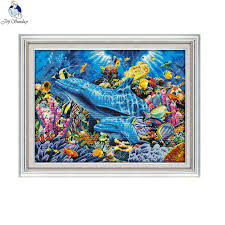 <b>Joy Sunday</b> Dolphin in the Sea D952 Large living Room Decoration ...