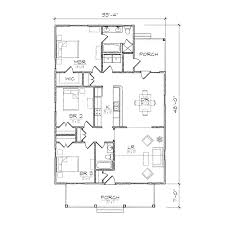 Tiny R tic Cottage House Plan Small Bungalow Floor Plans    Tiny R tic Cottage House Plan Small Bungalow Floor Plans