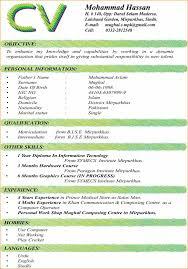 format of c v for job application basic job appication letter best cv format for jobs seekers