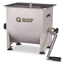 Buy Guide <b>Gear</b> Stainless Steel <b>Meat Mixer</b>, 4.2 Gallon Capacity ...
