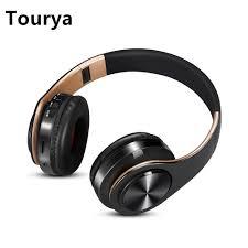 <b>Tourya</b> Wireless Headphones Bluetooth Headphone Foldable ...