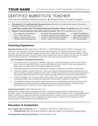 teacher resume summary resume examples resume sample of teacher certified substitute teacher substitute teacher resume best objective for assistant professor resume objective for law lecturer