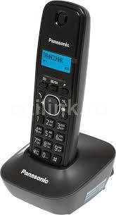 радиотелефон panasonic kx tg1611 ruj