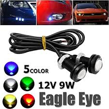 LED Eagle Eyes, Maso 10 Pcs <b>12V 9W Car</b> Daytime Running DRL ...