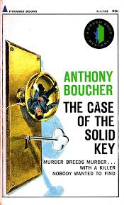 #554: The <b>Case of</b> the Solid Key (1941) by <b>Anthony Boucher</b> | The ...