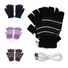 <b>new</b> Winter <b>Electric Heating Gloves</b> Thermal USB <b>Heated Gloves</b> ...