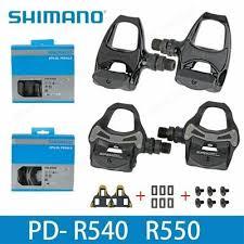 <b>SHIMANO R550</b> R540 road bike Pedals <b>SPD</b>-SL <b>Self</b>-<b>Locking SPD</b> ...