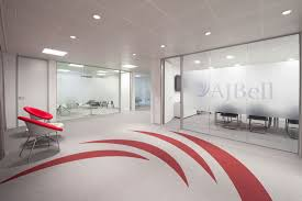 aj bell media office refurbishment office refurbishment office fit out workplace adelphi capital office design office refurbishment london