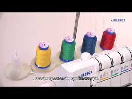 <b>JUKI MO</b>-735 - Chapter 3: Threading - YouTube