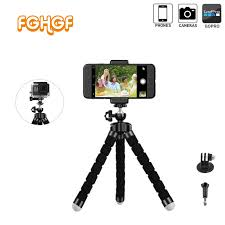 Buy <b>Mini</b> Flexible Sponge <b>Octopus Tripod</b> for iPhone Samsung ...