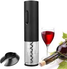 <b>Electric Wine</b> Opener Corkscrew Bottle Foil Cutter <b>Stainless Steel</b> ...