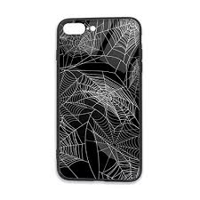 HIUTORBF <b>Halloween Cartoon</b> Black Background White Spider ...