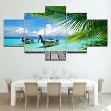 Canvas <b>Wall</b> Art <b>Modular Pictures</b> Home Decor 5 Piec reviews ...