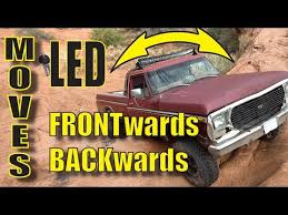 Remote Adjustable <b>LED Light Bar</b> Moves with a swtich - YouTube