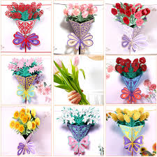 Mothers Day Greeting Cards Postcard <b>3D POP UP Flower</b> Thank ...