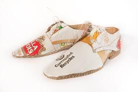 Resultado de imagem para sapatos feita de papel