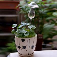 <b>Cute Mushroom</b>-Shape Self Flower Watering Tool Home Decoration ...