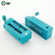 <b>2Pcs IC Lock Seat</b> Test Zif Socket 16Pin 20Pin 28Pin 32Pin 40Pin ...