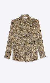 Men's <b>Shirts</b> | Denim, Checkered & Cotton | Saint Laurent | <b>YSL</b>
