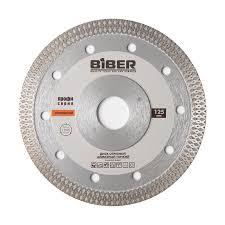 БИБЕР 70274 <b>Диск алмазный сплошной</b> тонкий 1,2мм 125мм (25 ...