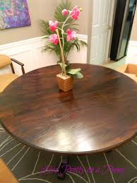 Refinishing A Dining Room Table Live Pretty On A Penny Refinishing An Oak Table A Dining Room