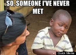 Picture For > Skeptical African Kid Original via Relatably.com