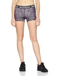 New Balance Women's <b>Printed Accelerate Hot Shorts</b>: Amazon.co ...