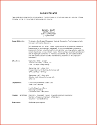 sample objectives in resume  seangarrette cosample objectives