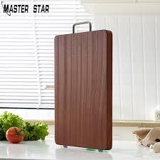 <b>Master Star Black Walnut</b> Chopping Board Kitchen Wood Food Plate ...