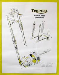 wallcharts posters for bsa triumph and royal enfield burton wallcharts