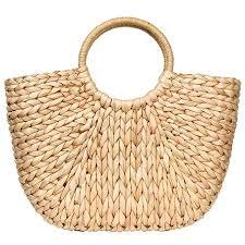Summer Rattan Bag for Women Straw Hand-woven ... - Amazon.com
