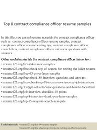 topcontractcomplianceofficerresumesamples lva app thumbnail jpg cb