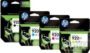 Набор <b>картриджей HP 920XL</b> (CD972AE + <b>CD973AE</b> + CD974AE ...
