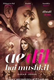 Watch Ae Dil Hai Mushkil (2016) (Hindi)   full movie online free