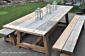 outdoor furniture restoration hardware. to build this set i used the 44 truss beam table and bench plans from ana white what a talented lady along way made few modifications outdoor furniture restoration hardware