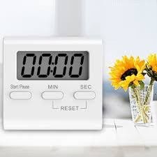 Touch Screen Luminous <b>Kitchen Timer</b> LCD Display <b>Magnetic</b> With ...