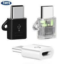 Yuero <b>3Pcs Mini USB</b>-C to <b>Micro USB Adapter Convert USB</b> 3.1 ...