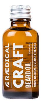 Купить <b>премиум</b>-<b>масло для бороды Craft</b> Beard Oil 30мл Raedical ...