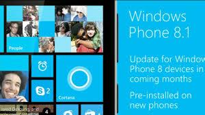 update terbaru Windows Phone 8.1