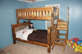 terrific full size bed space saving bedroom ideas with teak wood bunk bed and ladder also bedding bedroom wall bed space saving furniture