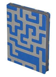 <b>Ежедневник Labyrinth</b>, <b>недатированный</b>, синий