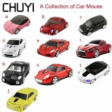 CHUYI <b>Hot Sale</b> Wireless Mouse Cool SUV Sport <b>Car</b> Mouse Gamer ...
