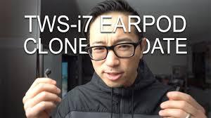<b>TWS</b>-<b>i7 AIRPOD</b> CLONES UPDATE - YouTube