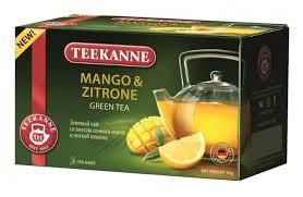 Купить <b>Чай зеленый Teekanne</b> Mango & zitrone в пакетиках, 30 г ...